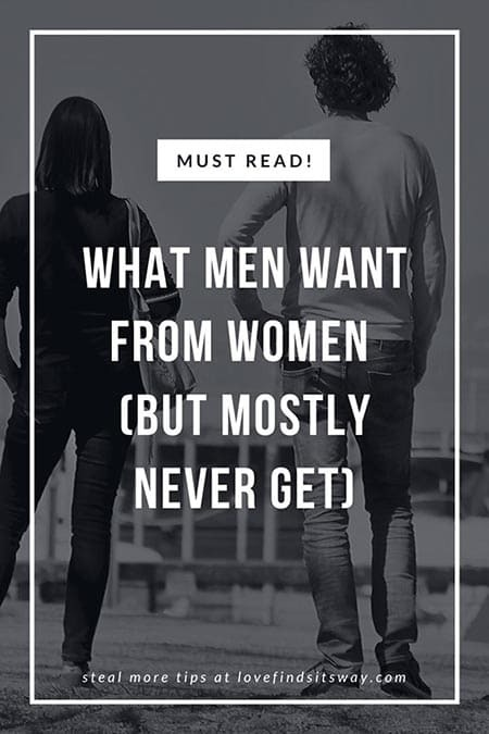 What Men Want From Women in a Relationship