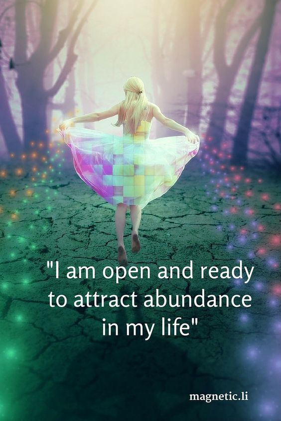 attract abundance of wealth and prosperity into your life.