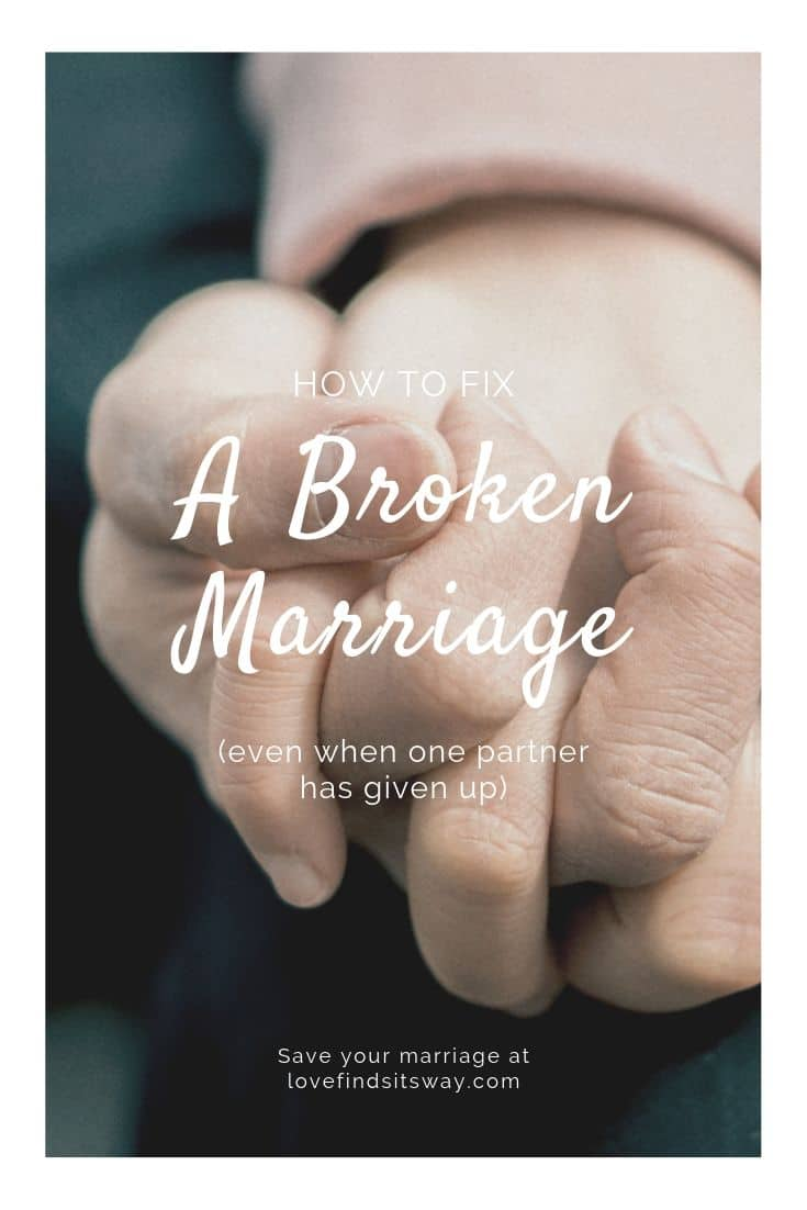 How to fix a broken marriage - lovefindsitsway - How to save your marriage