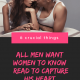 6 Crucial Things Men Want Women To Know (Read To Capture His Heart )
