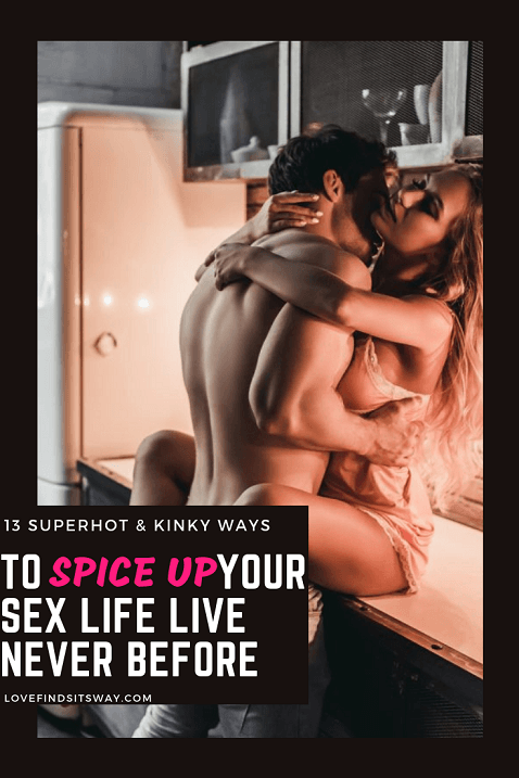 Spiceing up your sex life