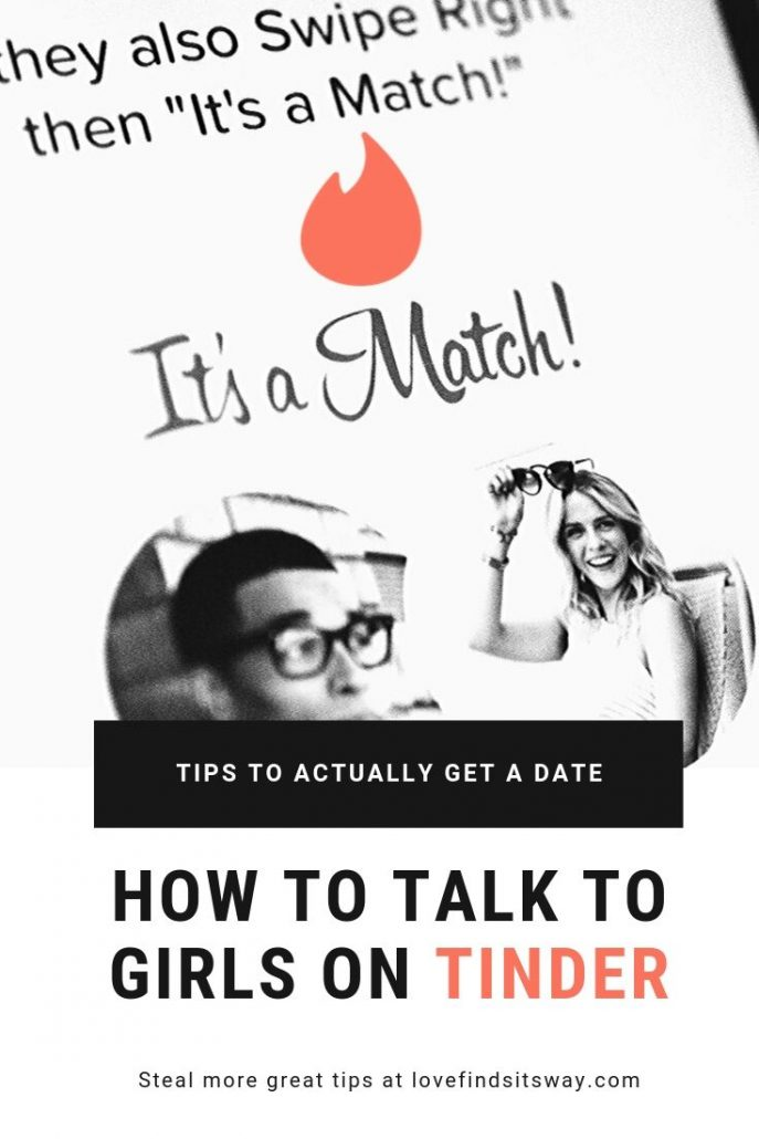 How to Talk to Girls on Tinder